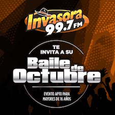 Baile de Octubre - Invasora 99.7 FM